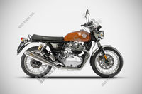 ECHAPPEMENT ZARD TWIN pour Royal Enfield INTERCEPTOR 650 TWIN EURO 4