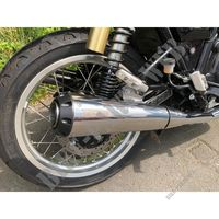 SILENCIEUX D'ECHAPPEMENT SCORPION pour Royal Enfield INTERCEPTOR 650 TWIN EURO 4