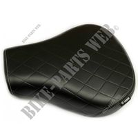 SELLE PILOTE TOURING pour Royal Enfield CLASSIC 500 STEALTH BLACK